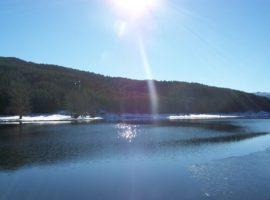 lago Ariamacina nel parco nazionale della sila