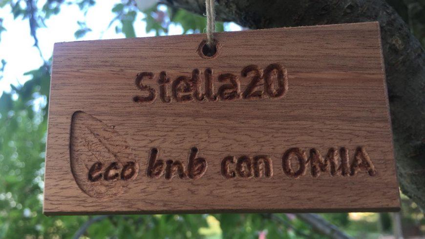 Targa albero Ecobnb OMIA 2