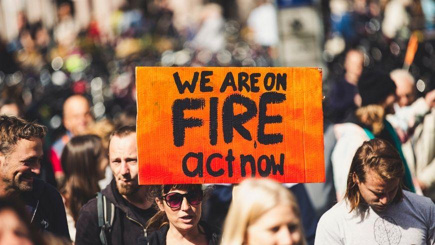 Manifestazioni contro il cambiamento climatico