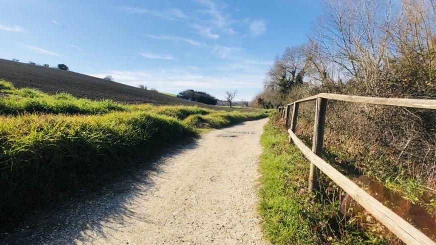 sentieri intorno a ritorno alla natura agriturismo su ecobnb
