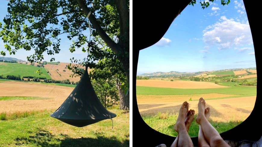 tenda relax a ritorno alla natura su ecobnb