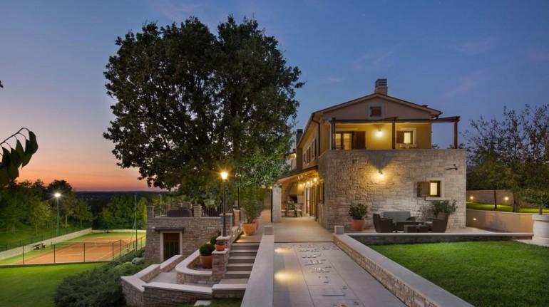 Villa Vlastelini Istria isolata per famiglie