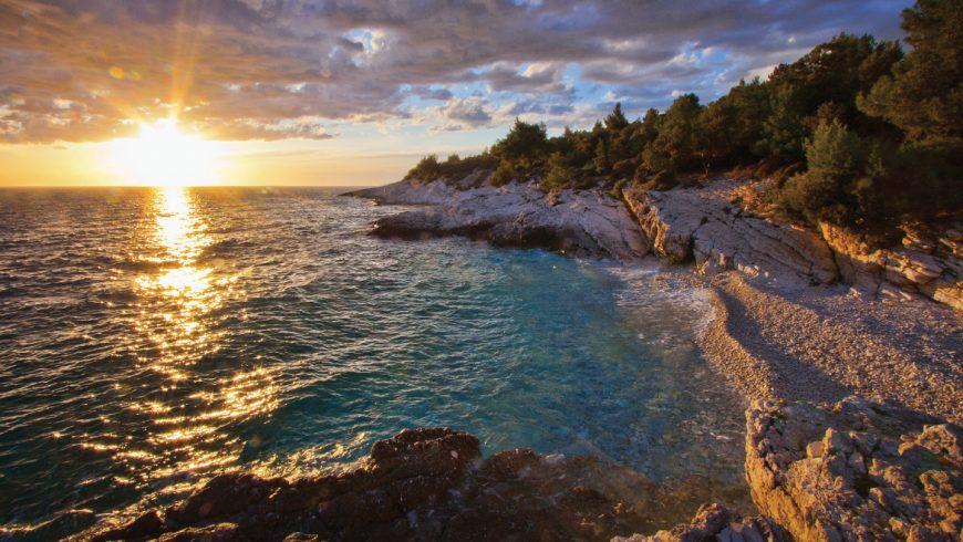 Spiaggia eco-friendly di Kamenjak, PorticPano, Istria