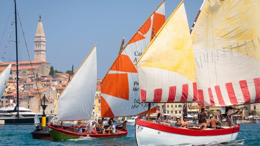 La regata di Rovigno