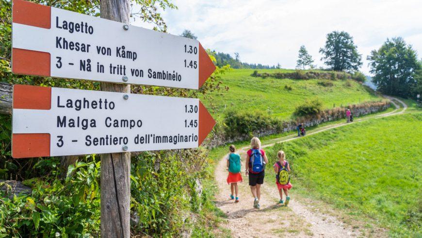 Sentiero dell'Immaginario Alpe Cimbra
