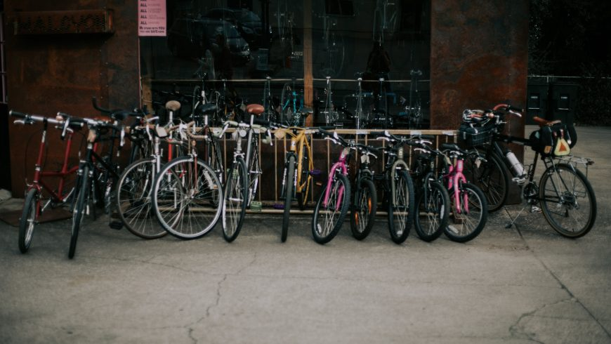 Bici parcheggiate