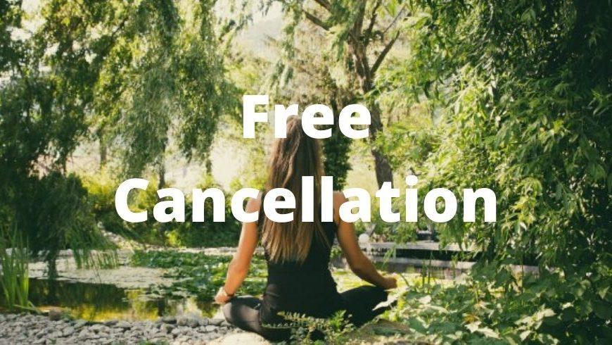 cancellazione gratuita