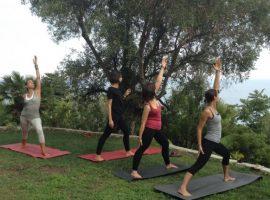 classe di yoga