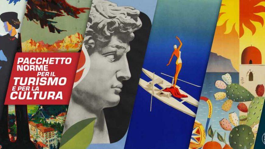 bonus per rilanciare il turismo e cultura in Italia