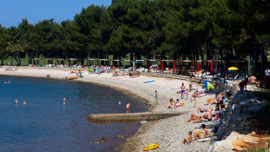 spiaggia green di Novigrad