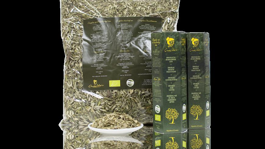 tè bio alle foglie di ulivo