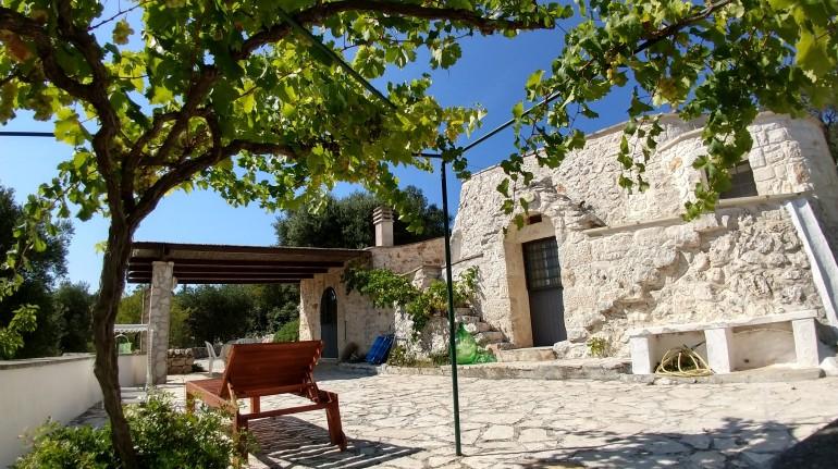 Una masseria in Val d'Istria