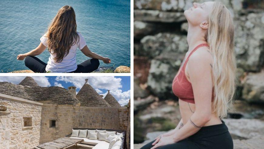 vacanza yoga trulli in puglia italia ecobnb