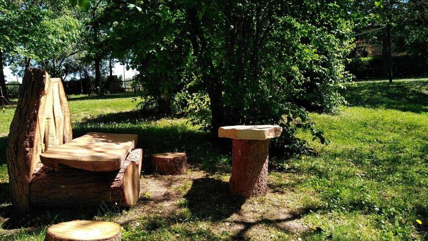 natura incontaminata intorno a awen tree house ecobnb