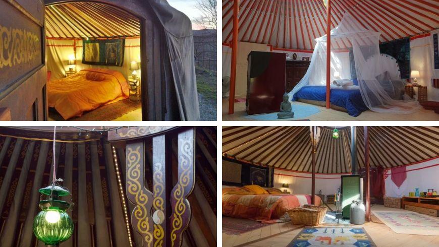yoga in yurta ecobnb italia