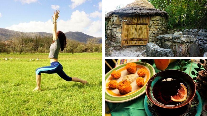 vacanza yoga unica in italia ecobnb