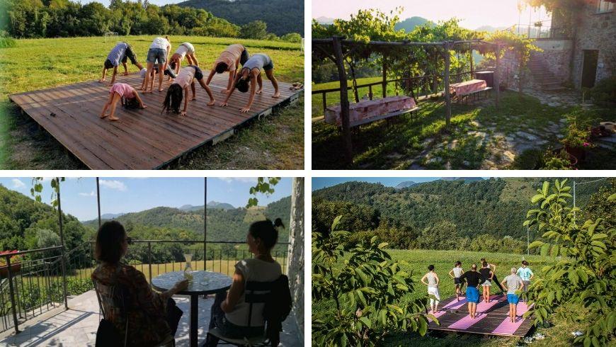 vacanza yoga in italia ecobnb