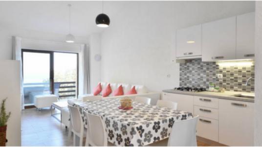 Appartamento moderno ed ecologico Analea: collettori solari e riciclo dell'acqua piovana