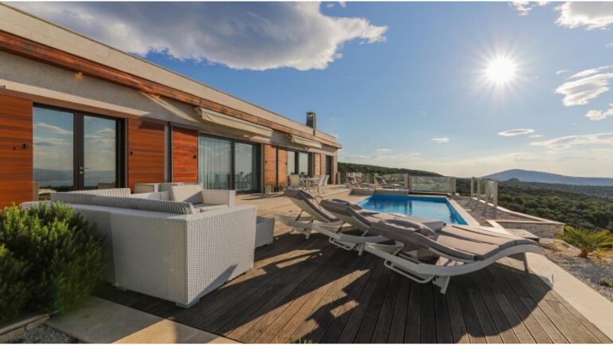 Tenuta Dol Hills: una delle case vacanza ecologiche e appartate più lussureggaianti sull'isola di Brač