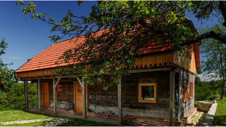 Mandala House presso la Tenuta Ekodrom, nella Croazia continentale