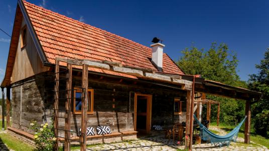 Plant House presso la Tenuta Ekodrom, nella Croazia continentale