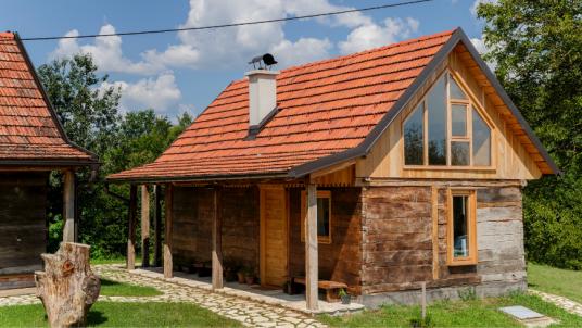 Sparrow House presso la Tenuta Ekodrom, nella Croazia continentale