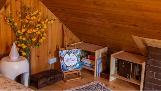 Na Okić, la casa nella foresta conosciuta per il riciclo