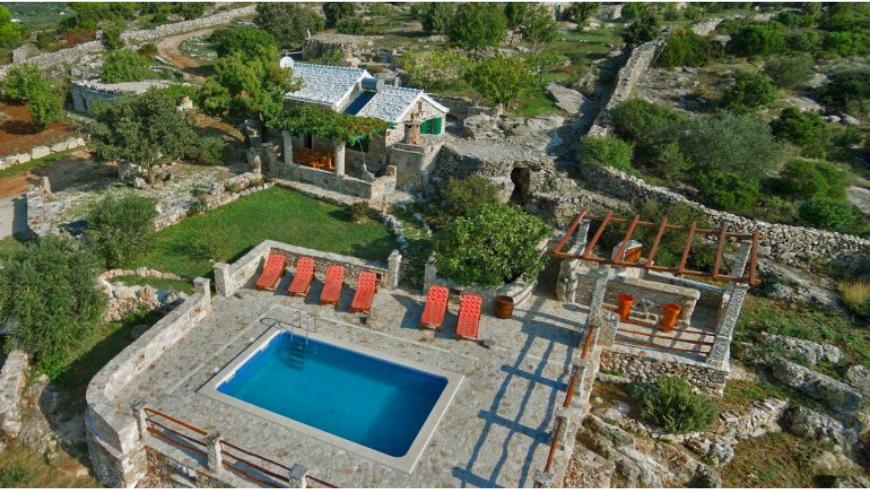 Ranch Visoka: una delle case vacanza ecologiche e appartate sull'isola di Brač