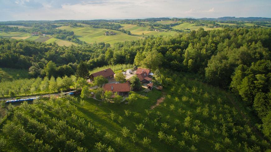 Tenuta Ekodrom: il tuo eco-cottage da sogno immerso nella natura vicino a Karlovac