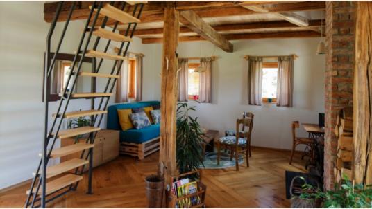 Proprietà Ekodrom in Croazia continentale: attenzione al design e alla creatività