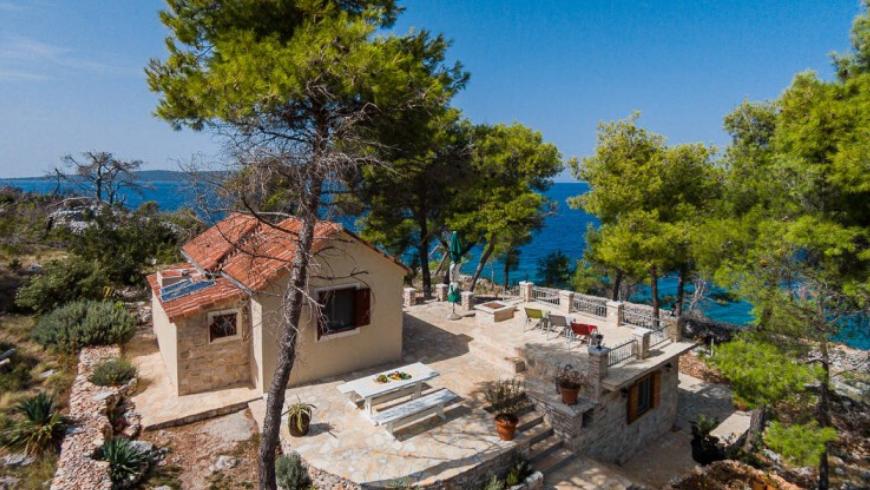 Cottage Vesna: una delle migliori case vacanza ecologiche e appartate sull'isola di Brač