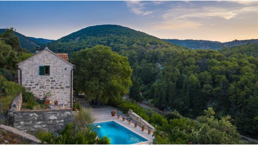 Villa Dol: una delle case vacanza ecologiche e appartate sull'isola di Brač