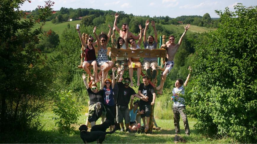 Proprietà Ekodrom in Croazia continentale: numerose offerte di nitiri yoga e workshop di diverso genere