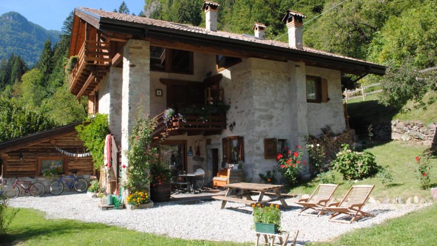 Villa Ca' Praja, B&B ecosostenibile in Trentino