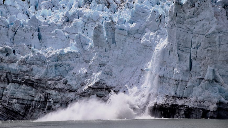scioglimento dei ghiacciai in Alaska