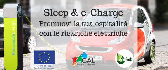 workshop sleep and charge: promuovi la tua ospiatalità con le ricariche elettriche
