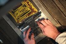 La macchina da stampa di Gutenberg
