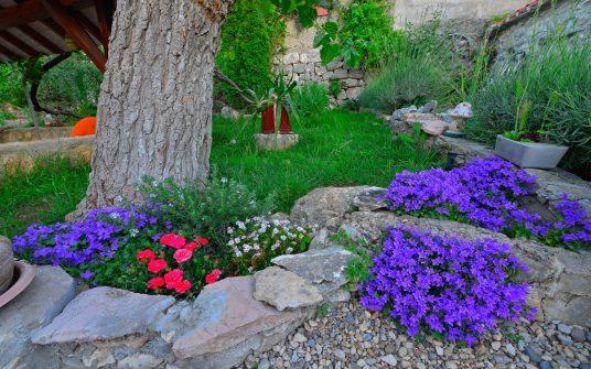 eco villa con giardino biologico in Dalmazia