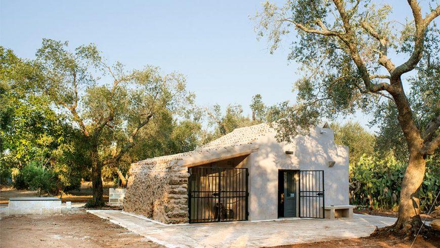 Un eco-cottage nel verde della Puglia