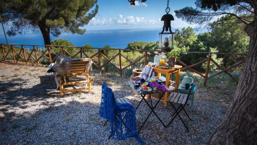 Un romantico eco-cottage sul mare