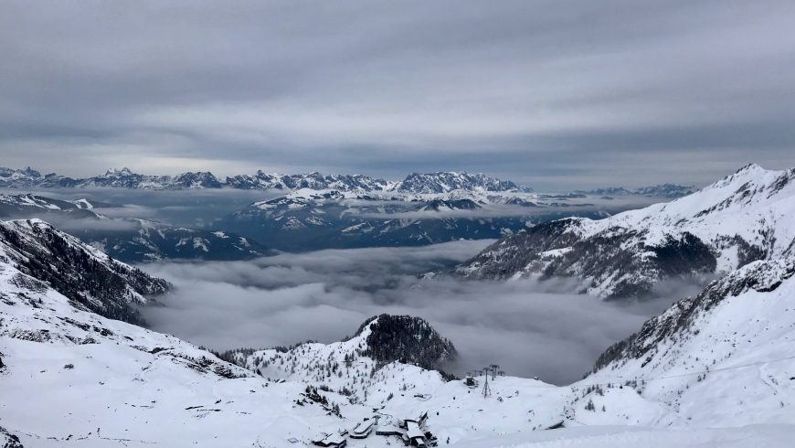 paesaggio innevato Austria