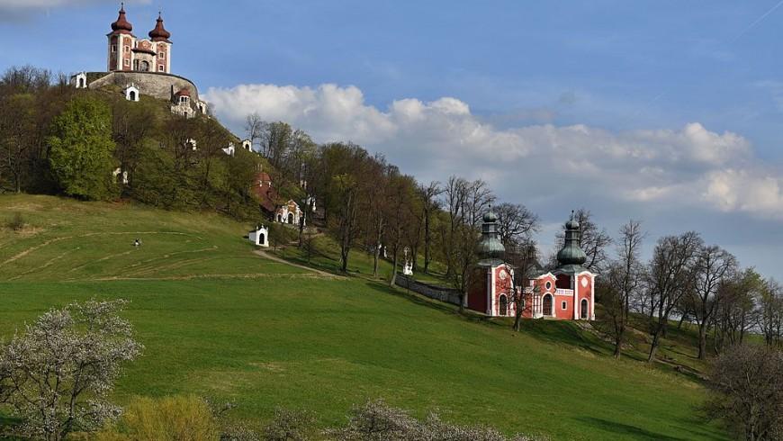 Paesino su colle in Slovacchia