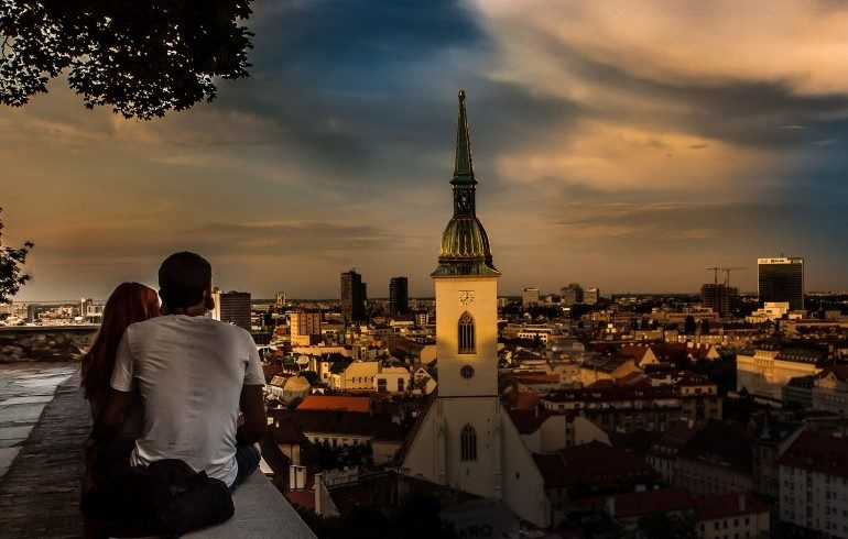 Tramonto Bratislava, Slovacchia