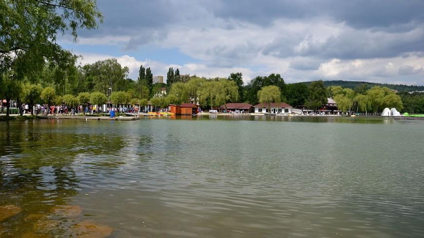 Lago turistico Repubblica Ceca
