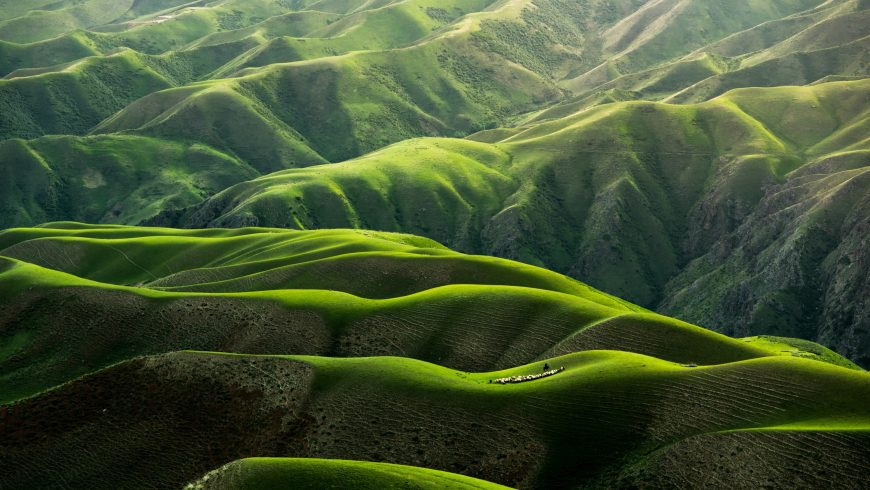 Colline in Cina