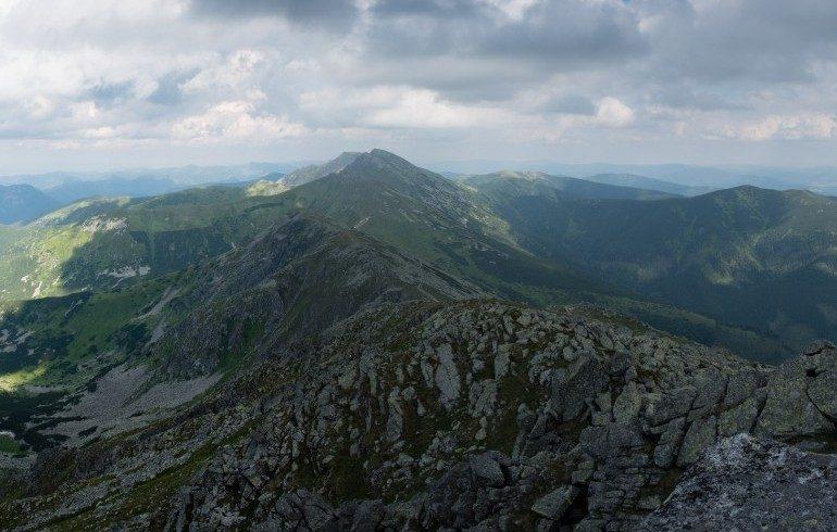Sentiero roccioso in Slovacchia