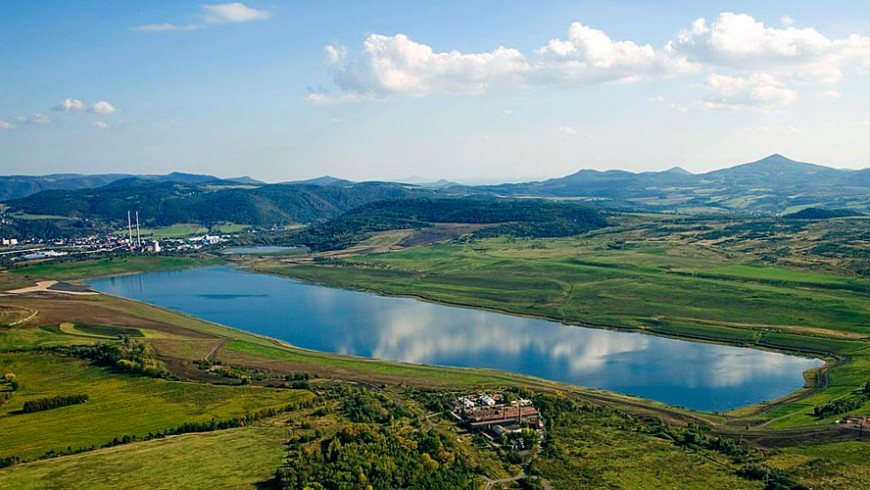 Lago in Repubblica Ceca