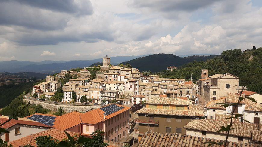 Panorama di Mendicino, Calabria