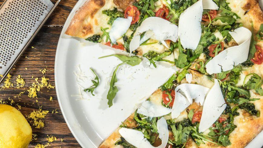 Spreco di pizza