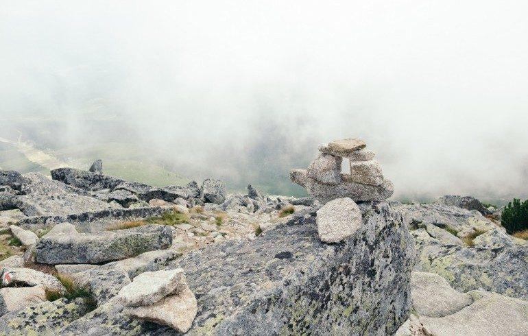 Paesaggio montuoso in Slovacchia